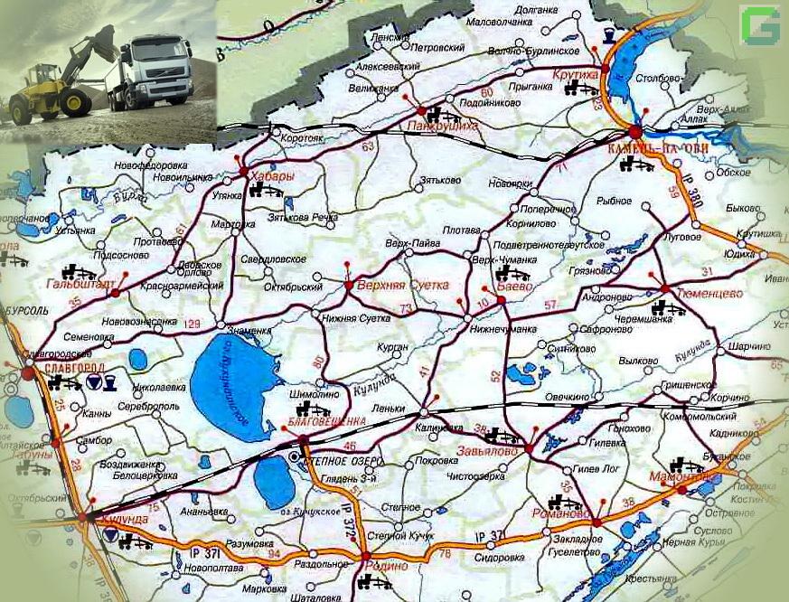 дорог Алтайского края,
